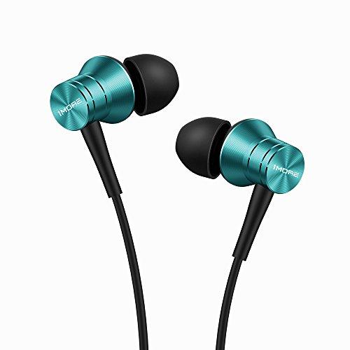 Fones de ouvido intra-auriculares 1MORE com com 4 opções de cores, para smartphones/PC/Tablet – Azul