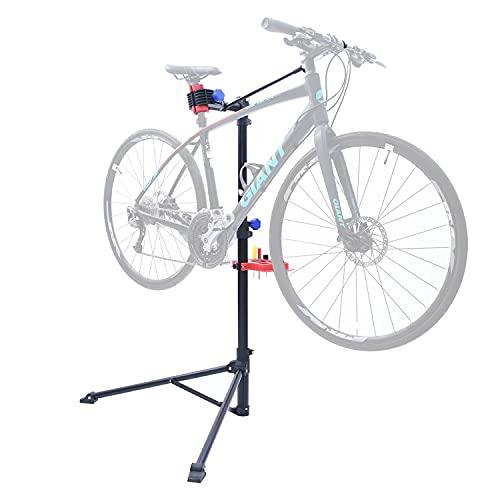 Sportneer Fahrrad Montageständer, Fahrradmontageständer Montageständer für Fahrräder Fahrrad Reparaturständer aus Aluminiumlegierung Robuster Fahrradständer, für alle Fahrradarten