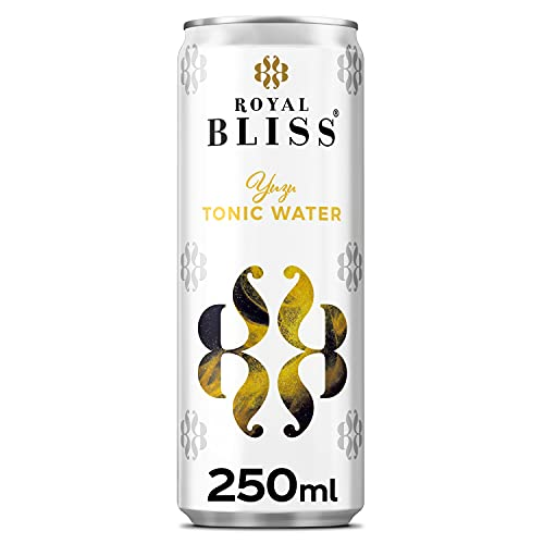 Royal Bliss Exotic Yuzu Sensation - Tónica premium - Lata de 250 ml