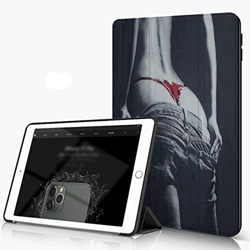 She Charm Carcasa para iPad 10.2 Inch, iPad Air 7.ª Generación,Vaquera Sexy,Incluye Soporte magnético y Funda para Dormir/Despertar
