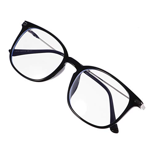 EXCEART Gafas de Bloqueo de Luz Azul Retro Antifatiga Gafas Anti Rayos UV para Juegos de Ordenador Gafas para Mujeres Y Niñas