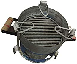 Amrapali Angeethi BBQ Style Metal Ashtray, Gas Stove tandoor Griller Heater Oven, sigdi chulha Traditional Standard Size C...