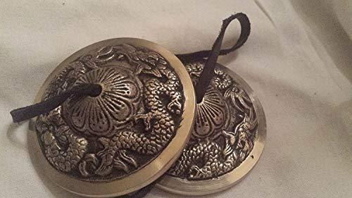 BEAUTIFUL TIBETAN BUDDHIST CHAKRA, TINGSHA CYMBALS, REIKI,
