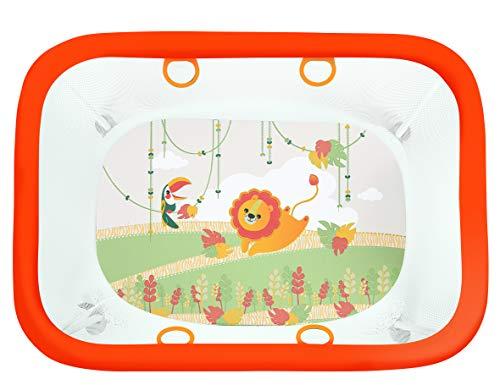 Brevi 584 Royal Box - Scatola - Area Giochi, Multicolore (Giungla), 111 x 78 x 84 cm, 1 Pezzo