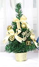 QXM 30 cm Mini kerstbomen Xmas Decoraties Een kleine dennenboom geplaatst in het bureaublad Kerstfeest Home Ornamenten
