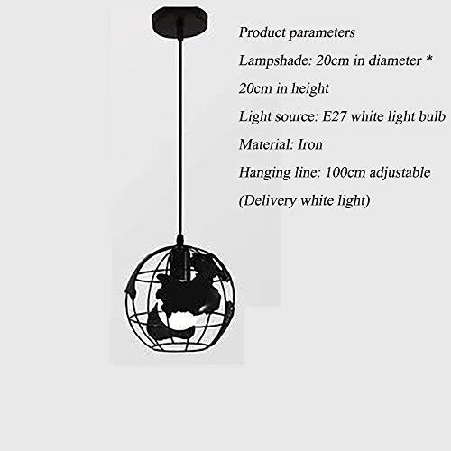 Kronleuchter Pendelleuchte, rund Globe Kronleuchter Einfache Kronleuchter/Wohnzimmer Schlafzimmer Arbeitszimmer Kronleuchter Perfekte Einstellbare Höhe LED-Leuchten Hänge