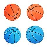 Milageto 4pcs 6'Pelota Hinchable de Baloncesto Inflable para Niños, Juguete Deportivo para Exteriores