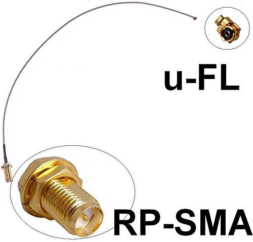 Generic DYHP-A10-CODE-1251-CLASS-7-- Fritz!Box Pigtail Ipex x u-FL Wlan WiFi Speedport ritz! Antennen lan WiF Adapter Kabel Kabe RP-SMA en Adap --DYHP-DE10-160828-71