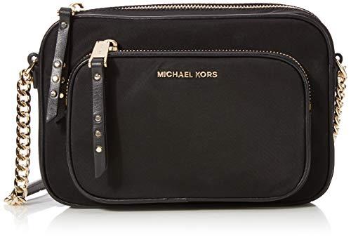 Michael Kors Crossbody, Borsa a Tracolla Donna, Nero (Black), 5x15x20 cm (W x H x L)