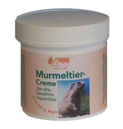 4x Murmeltier Creme 250ml - Allgäu, altbewährte Hausmittel, wohltuend, unterstützt die Durchblutung und pflegt empfindliche Haut