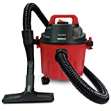AGARO 33398 Rapid 1000-Watt, 10-Litre Wet & Dry Vacuum Cleaner, with Blower Function (Red & Black)