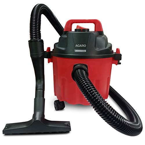 AGARO 33398 Rapid 1000-Watt, 10-Litre Wet & Dry Vacuum Cleaner, with Blower Function (Red & Black)