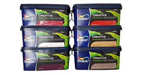 Dulux Creative Wand- und Deckenfarbe seidenglanz 2,5 l (Fiesta Latina)