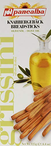 Panealba Grissini Olivenöl, 16er Pack (16 x 125 g)