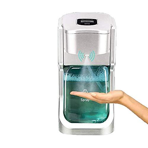 WWSHWLCDSCREEN Spender, 500ml Automatischer Desinfektionsmittelspendersprayspender, mit Sensor-Seifenspender für Küchen- und Badezimmerwaschraum/öffentlicher Ort