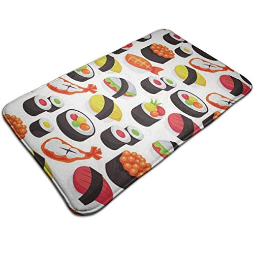 N/A Sushi badmat deurmat antislip absorberend badmat tapijt voor binnen / buiten / keuken / ingang / badkamer VA-3H6