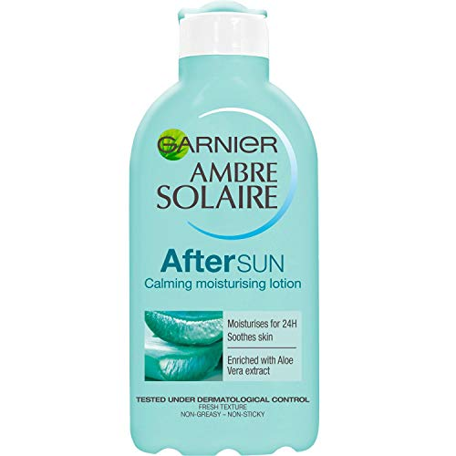Garnier Ambre Solaire After Sun Soothing and Hydrating Lotion with Natural Derived Aloe Vera 200ml