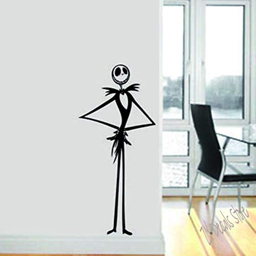 Pesadilla creativa antes de Navidad Halloween Dibujos animados Fantasma Calabaza esqueleto Calcomanía de vinilo Arte Etiqueta de la pared Regalo para niños Sala de estar Dormitorio decoración del