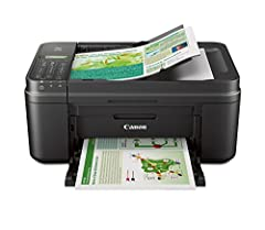 We are here for you with 100 percent US based Service & Support Save time with the fully integrated Auto Document Feeder Print and scan photos or documents from your mobile device using the free Canon PRINT app Air Print: Print wirelessly and effortl...