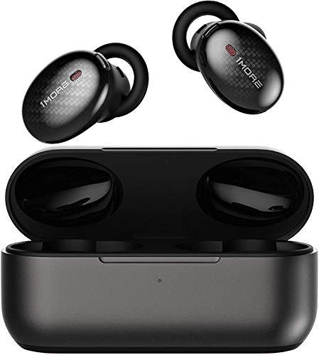 1 MEER Ware Draadloze ANC In-Ear Hoofdtelefoon, Stereo Actieve Ruisonderdrukking In-Ear Oortelefoons, Dual ANC Microfoons Oordopjes, Bluetooth 5.0, Snel Laad Hoofdtelefoon met Opladen Case