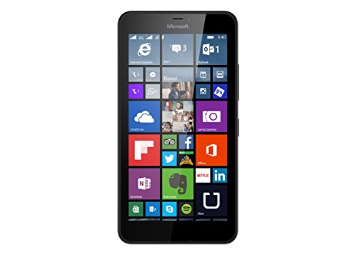 Microsoft Lumia 640 XL LTE DS 4 g Smartphone UNLOCKED (5,7 Zoll-Display: 8 GB - 2 SIM - 8.1 Windows Phone)