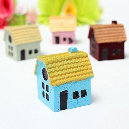 Bazaar miniatuur huis versiering bloempot tuin microlandschap