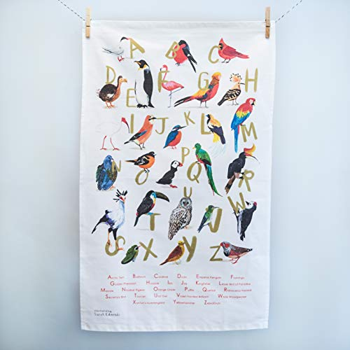 8. Bird Puns Peckers Tea Towel