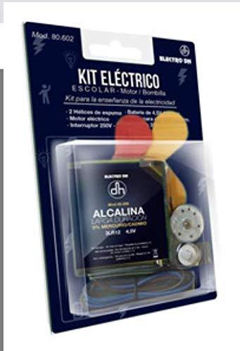 Kit eléctrico Escolar con Motor. (Incluye Dos hélices de Espuma)