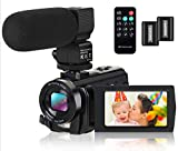 Best Blogging Cameras - Video Camera Camcorder Digital YouTube Vlogging Camera Recorder Review
