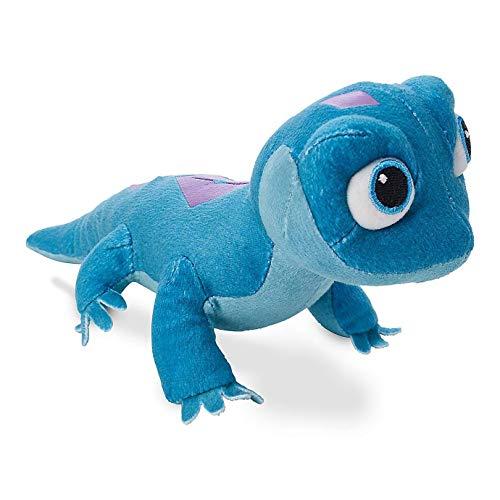 VNAURRY Bruni Salamander Personaje de película de Peluche de Felpa, Lagarto de Fuego Sal de Peluche de Peluche para niños Amante de los Animales Azul 25cm