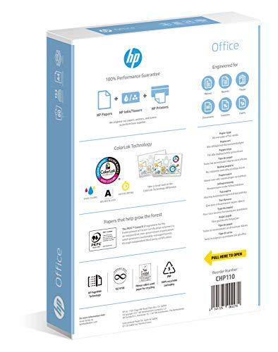 HP CHP110, Papel de impresora, DIN A4 80g/qm, color blanco, 500 hojas