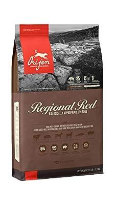 ORIJEN Dry Dog Food, Regional Red, Biologically Appropriate & Grain Free