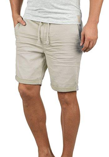 Blend Dongo Pantalón Corto Vaqueros para Hombre Elástico Regular-Fit, tamaño:XL, Color:Bone White (70016)