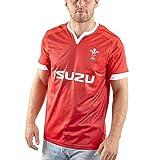 Maillot de Rugby pour Homme, T-Shirt d'entraînement 2020 Pays de Galles Rugby Polo, Haut de Sport de Football de supporteur, Meilleur Cadeau d'anniversaire-XXXL