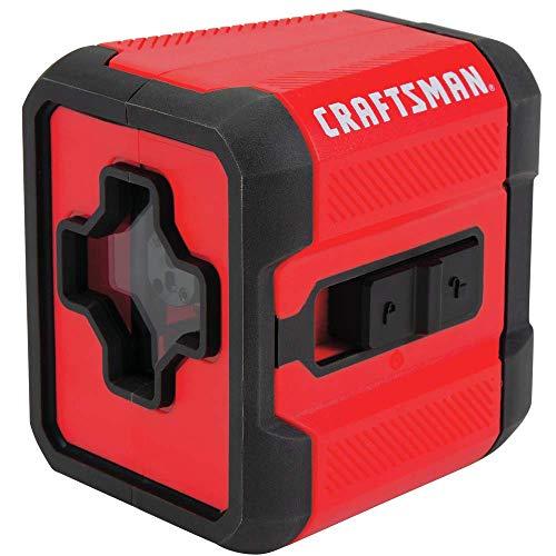 CRAFTSMAN Laser Level, Cross Line, Red, 36-Foot Range (CMHT77629)
