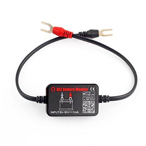 battery monitor BM2 Bluetooth 4.0 dispositivo comprobador de batería de coche recargable Bluetooth Monitor 12 V comprobador de batería de coche Motor barco RV sentido iPhone Android teléfono prueba