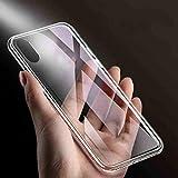 MarinoBIRD Real Glass Étui Antichoc Hybride Transparent Transparent pour Ipho XS Max XR - Transparent