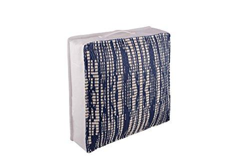 FAB HAB Brooklyn Cojines Decorativos al Aire Libre - Dark Blue (51 cm x 51 cm)