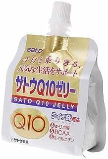 サトウ Q10ゼリー ライチ風味 150g 6個セット