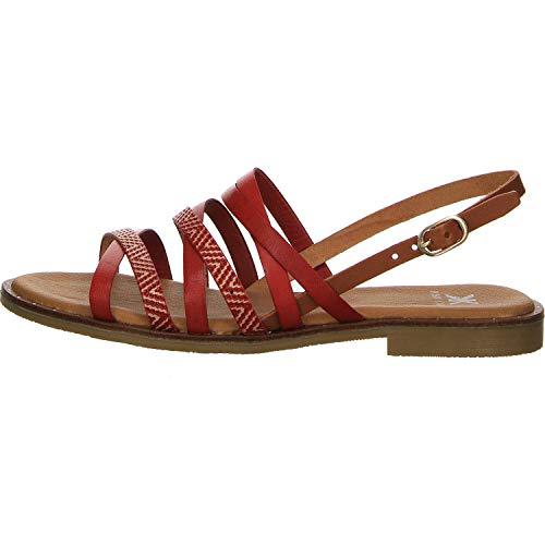 Kim Kay Damen Sandalen Sandale rot Gr. 42