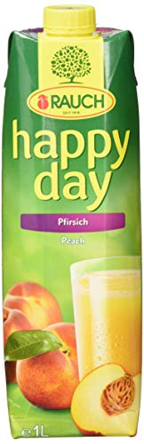 Rauch Happy Day Pfirsich, 6er Pack (6 x 1 l)