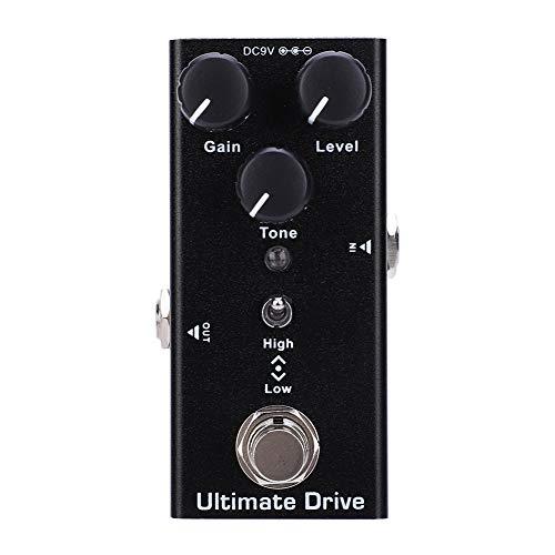 Ultimate Drive, E-Gitarren-Effektpedal Mini Single True Bypass-Gitarrenteile DC 9V