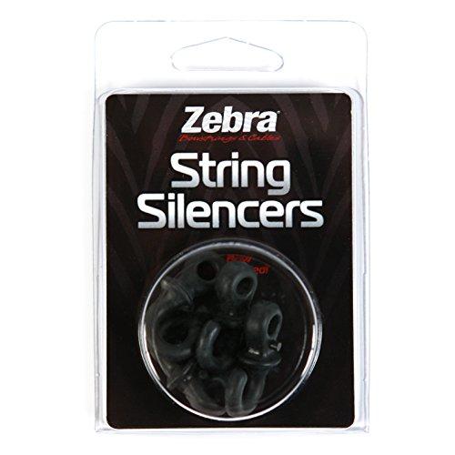 ZEBRA String Silencers Pack, Black