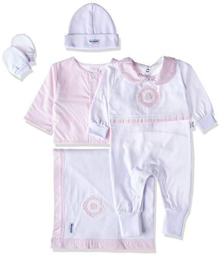 Saida Maternidade 5 pcs Vineyard Rosa, Biramar Baby, Rosa