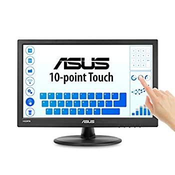 """Asus VT168H 15.6"""" 1366x768 HDMI VGA 10-Point Touch Eye Care Monitor 15.6-inch"""