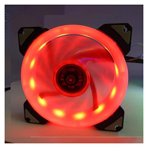 Duradero 90 Mm 9225 LED 4Pin PWM Ventilador De 92 Mm Pantalla De La Computadora Mute 9cm CPU Fan De Enfriamiento Silencioso PC Máquina De Enfriamiento Ventilador DC 12V Ajuste Velocidad Del Ventilador
