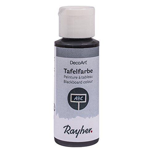 Rayher Pizarra negra, botella 59 ml, multicolor