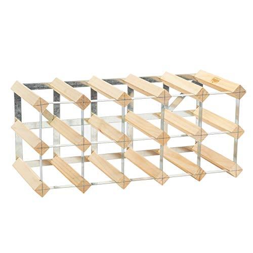 Cintres en bois naturel - lot de 10- entièrement assemblé - bois clair