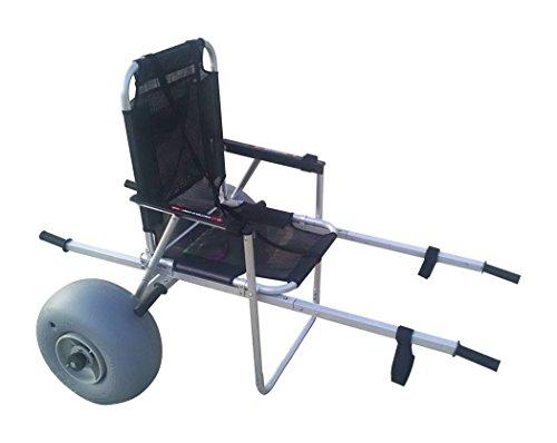 Beach Wheelchair & Mobility Aid - Great for Soft Sand & Dirt, Waterproof, All Terrain Wheelchair