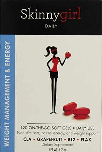 Skinnygirl Daily Weight Management & Energy System, 120 Gel Caps